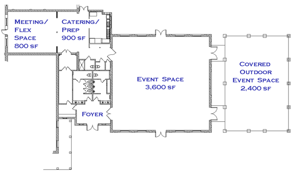 morris center floorplan